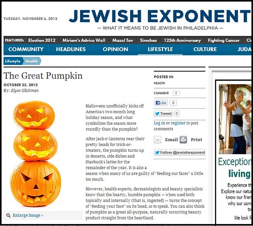 Joel Schlessinger MD answers questions about pumpkin skin care products