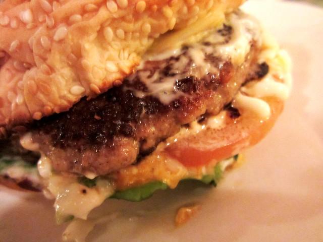 Bistecca & Bistro pork burger 2