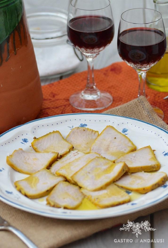 Lomo de orza de andalucia receta paso a paso