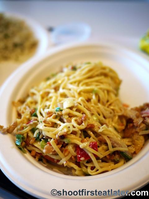 Lemonade L.A.- Soba noodle, kimchi marinated vegetables