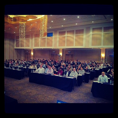 Taken during my presentation at the Malaysian Media Conference (and this is just half the room). #in #adoimagazine by phatfreemiguel
