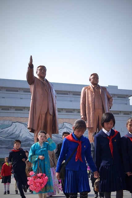 The New Pyongyang Kim Jong-il Statue