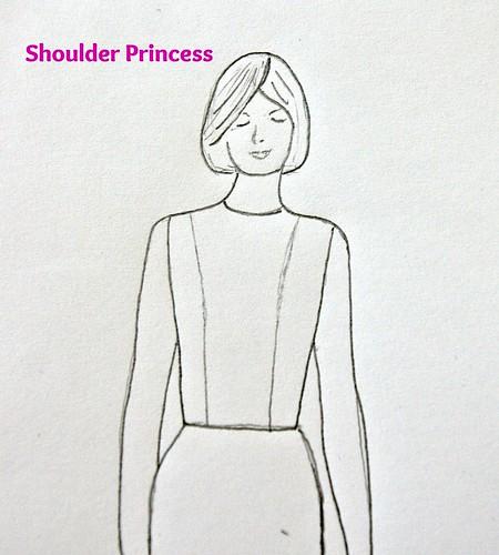 shoulder princess