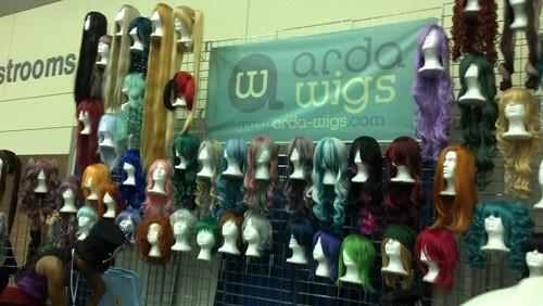 Wigs at Otakon 2012