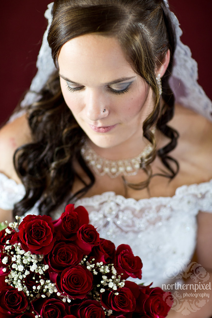 Bridal Session - Prince George Red Roses