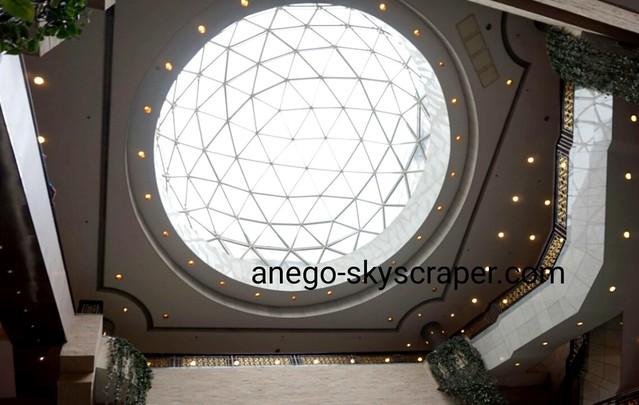 上海博物館の天井