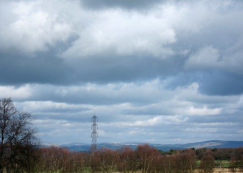 View towards Staffordshire Moorlands from Wetley Moor
