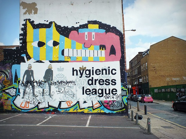 Malark Graffiti in Shoreditch, London