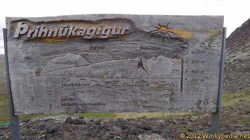 Map of Thrihnukagigur's magma chamber