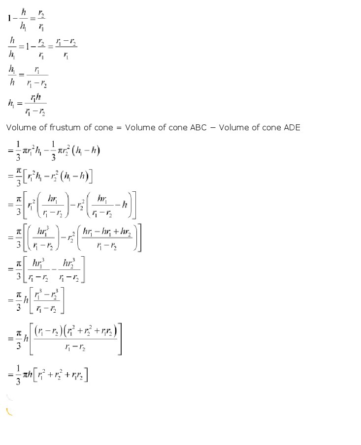 NCERT Solutions For Class 10th Maths Chapter 13 Surface Areas and Volumes Download 2018-19 New Edition PDF NCERT Solutions For Class 10th Maths
