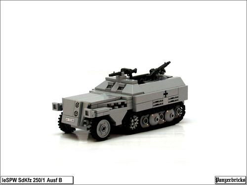 SdKfz 250/1 Ausf B de Panzerbricks
