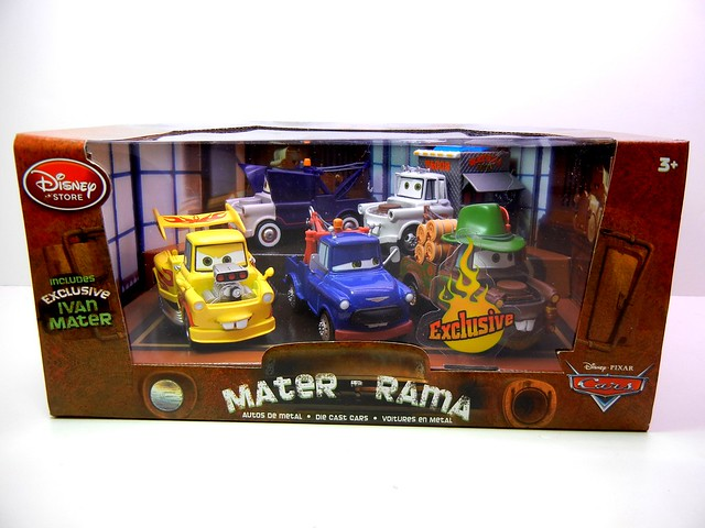 disney store cars 2 mater rama set (1)
