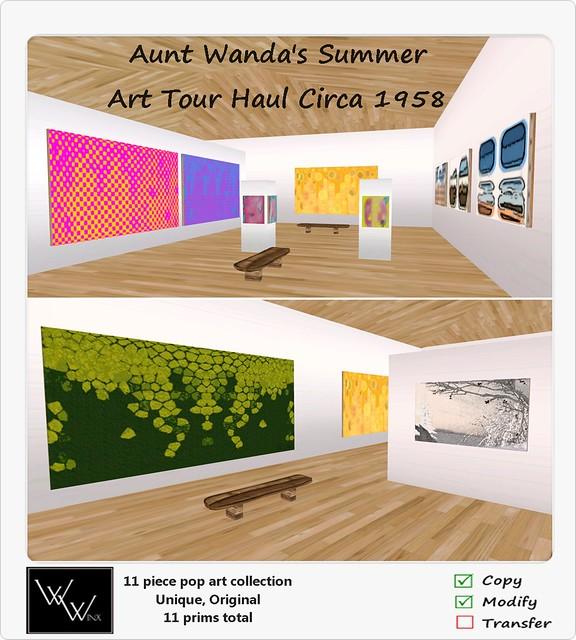 W. Winx-Aunt Wanda's Summer Art Tour Haul