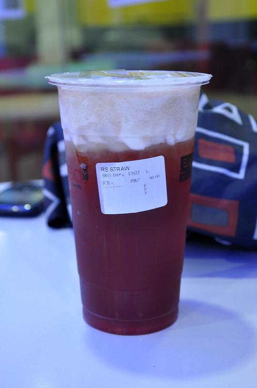 Rock Salt Cheese with Strawberry Black Tea