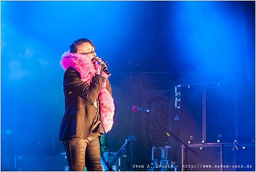 Marilyn Manson (Brian Hugh Warner) & Twiggy Ramirez (Jeordie Osbourne White)