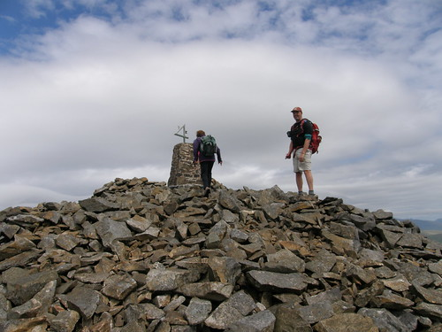 The summit of Garn Ganol