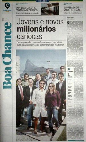 O Globo - Caderno Boa Chance by Abridor de sachê