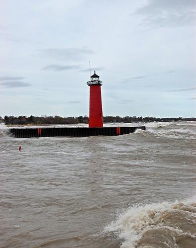 Lake Michigan after Sandy 33