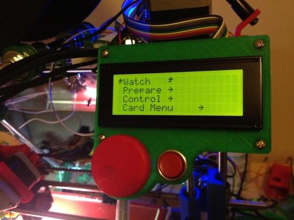 PanelMAX encoder menu