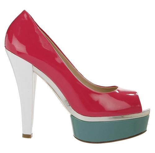 Zapato peep toe maxi plataforma de Exe en El Armario de la Tele PVP 74,75€ LOVELYSTYLE