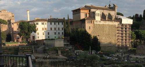 ROMA - I FORI IMPERIALI: Foro e  Tempio della Pace, nuovo scavo e restauro, (giugno 2012). by Martin G. Conde