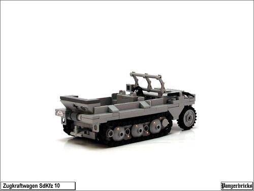 SdKfz 10 de Panzerbricks