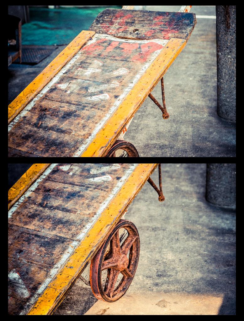 Tsukiji Cart Diptych