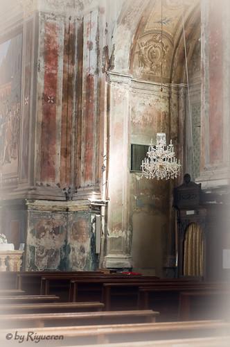 Priero: Chiesa di S.Antonio abate - interno