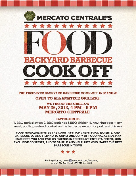 Mercato Centrale's FOOD Backyard BBQ Cook-off