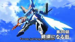 Gundam AGE 3 Episode 30 The Town Becomes A Battlefield Youtube Gundam PH 0001