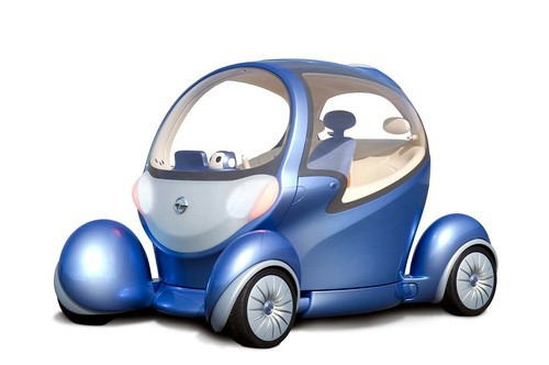 Nissan's PIVO 2 commuter car, PIVO 2