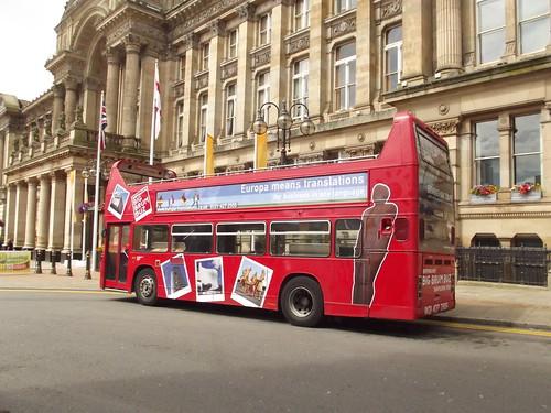 Birmingham Big Brum Buz - Colmore Row / Victoria Square