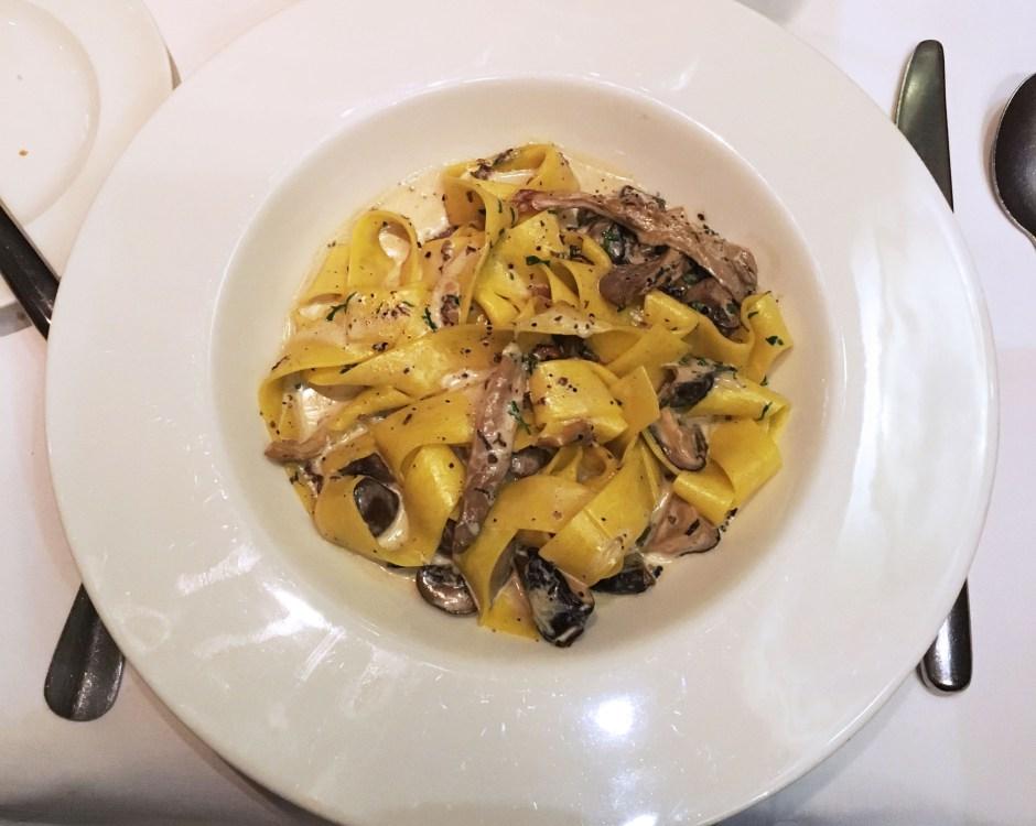 Truffle pasta London