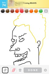 Beavis, Draw Something App