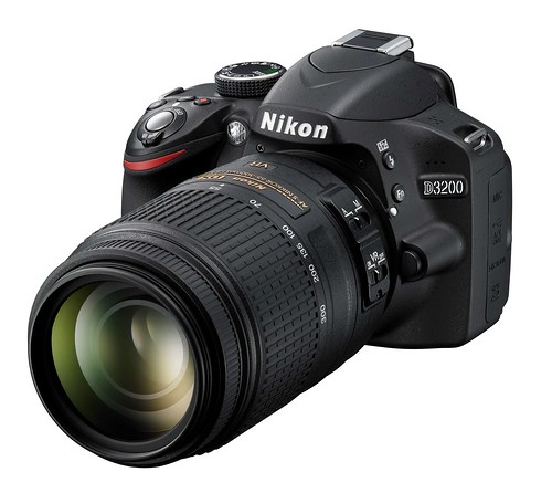 The Nikon D3200... High resolution and 24 megapixel