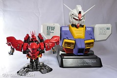 Formania Sazabi Bust Display Figure Unboxing Review Photos (140)