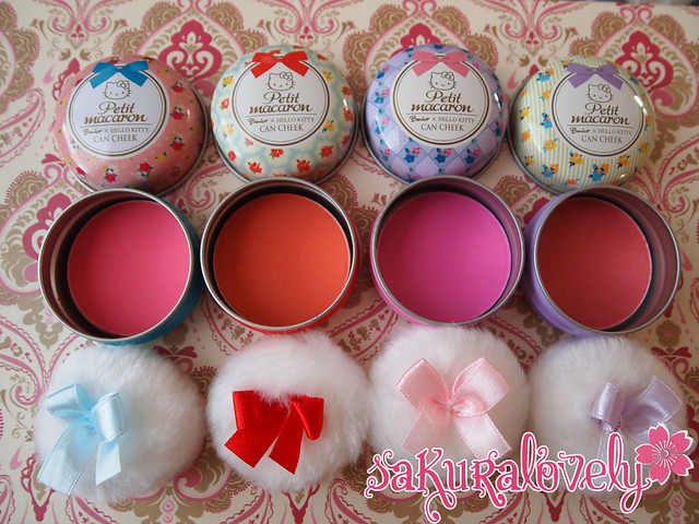 Hello Kitty x Bonjour Paris Macaron Blushes