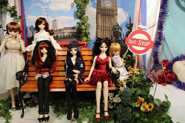 Momoko, Aerie, Natsuki,  Kiriha, Rin and Cirno