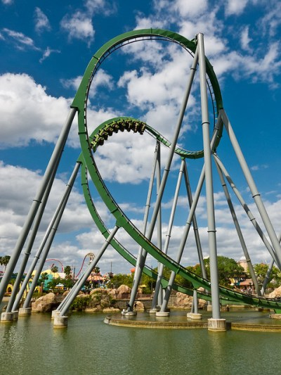 The Hulk Roller Coaster | Flickr - Photo Sharing!