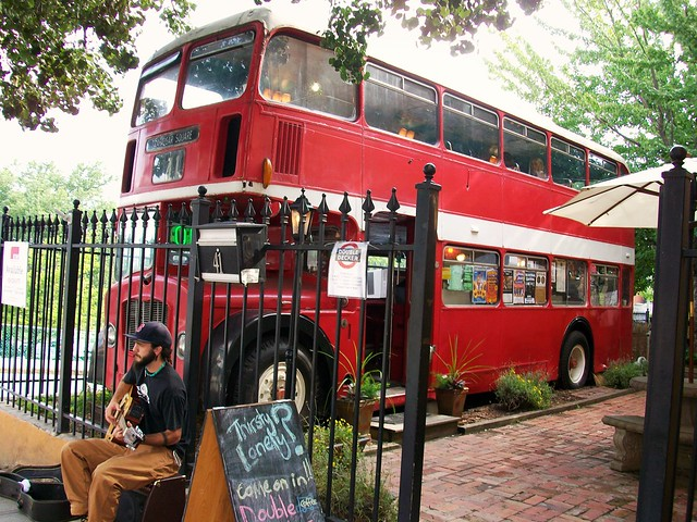 Double Decker Coffee Shop