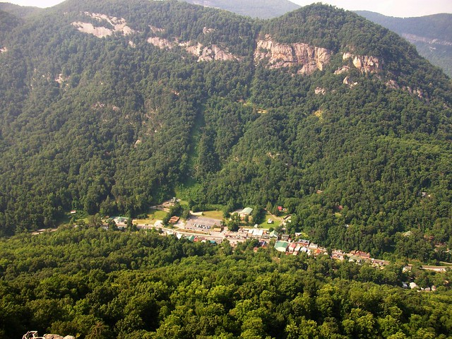 the town of Lake Lure