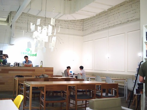Interior, Real Food Cafe, The Central
