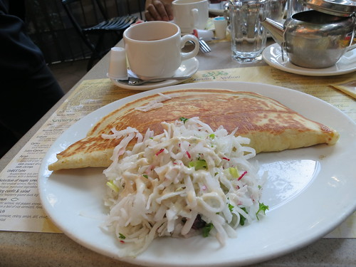 Rabbit crepe at Jardin Nelson
