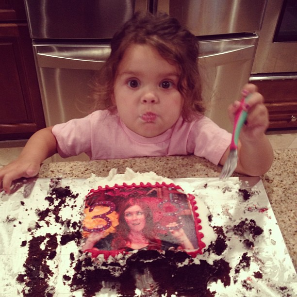 """This cake might as well say """"World's Greatest Mom."""""""