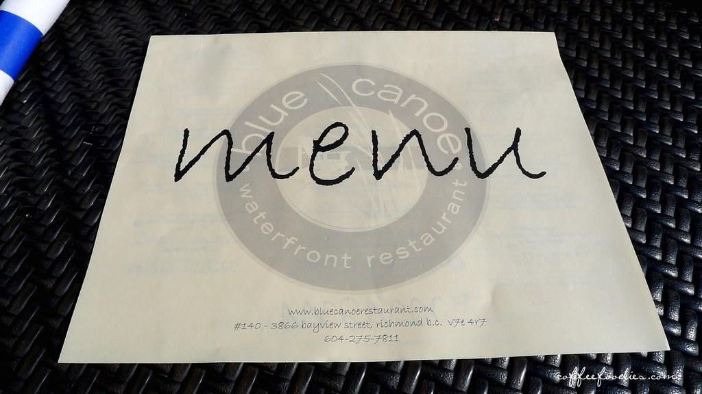 BLUE CANOE Waterfront Restaurant Steveston Richmond 0011