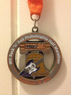 Sept 19 2010 Rock 'n' Roll Philadelphia Half Marathon