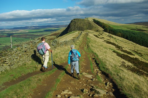 20111016-27_Striding Out on The Great Ridge towards Back Tor by gary.hadden