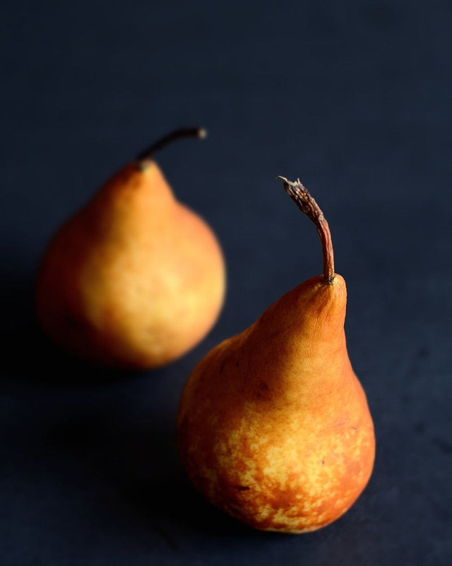 Honey Roasted Pears
