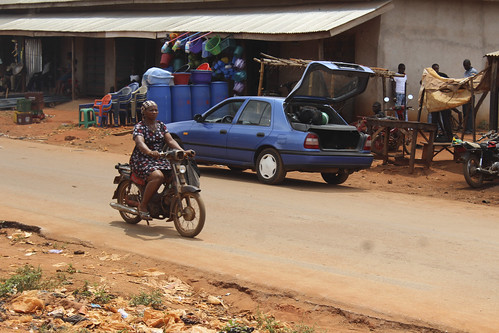 Iheaka Village Female Motorcyclist  - Enugu State. by Jujufilms
