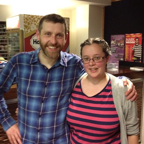 Did I show you? Look who I met yesterday. @davegorman